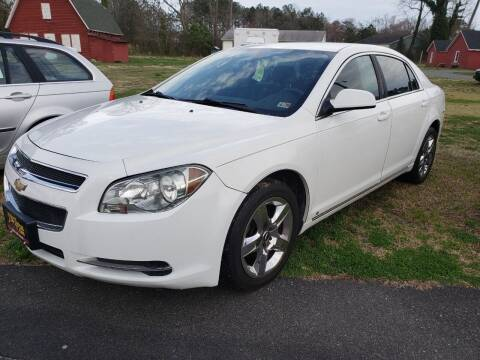 2009 Chevrolet Malibu for sale at J Wilgus Cars in Selbyville DE