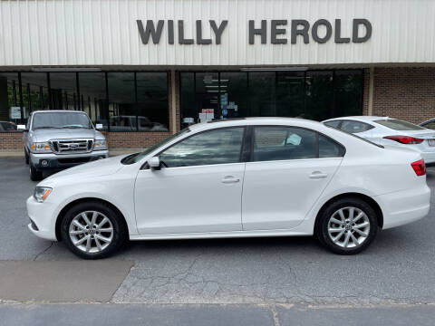 2013 Volkswagen Jetta for sale at Willy Herold Automotive in Columbus GA