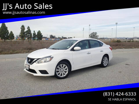 2017 Nissan Sentra for sale at JJ's Auto Sales in Salinas CA