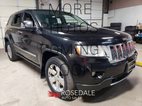 2013 Jeep Grand Cherokee for sale at Rosedale Auto Sales Incorporated in Kansas City KS