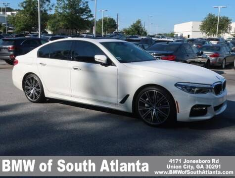 2018 BMW 5 Series for sale at Carol Benner @ BMW of South Atlanta in Union City GA