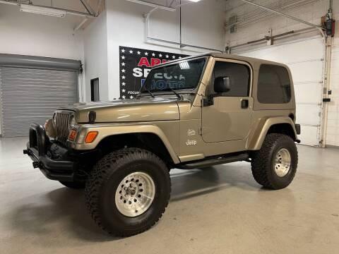 2003 Jeep Wrangler for sale at Arizona Specialty Motors in Tempe AZ