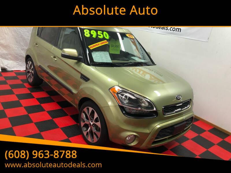 2013 Kia Soul for sale at Absolute Auto in Baraboo WI