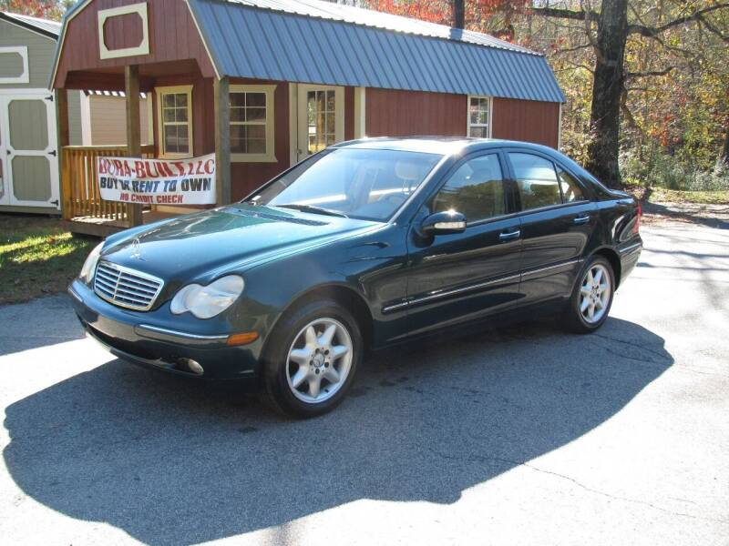 2002 Mercedes-Benz C-Class for sale at White Cross Auto Sales in Chapel Hill NC