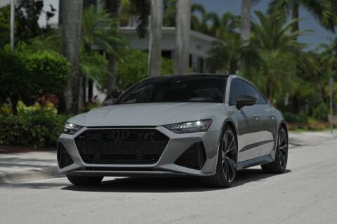 2021 Audi RS 7 for sale at EURO STABLE in Miami FL
