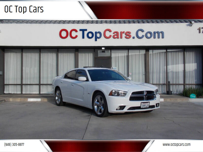 2013 Dodge Charger for sale at OC Top Cars in Irvine CA