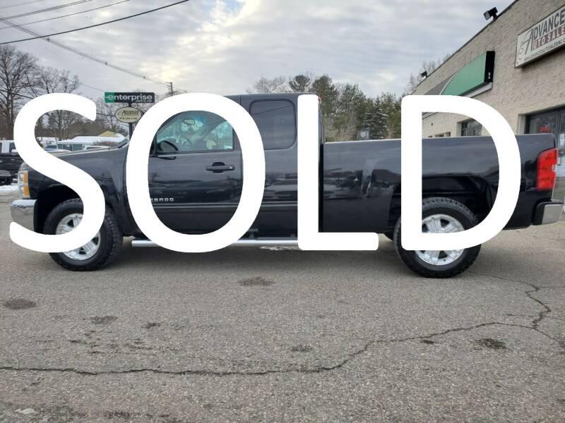 2012 Chevrolet Silverado 1500 for sale at Advanced Auto Sales in Tewksbury MA