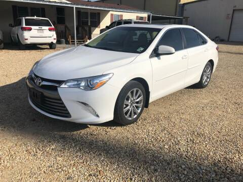 2017 Toyota Camry for sale at Community Auto Specialist in Gonzales LA