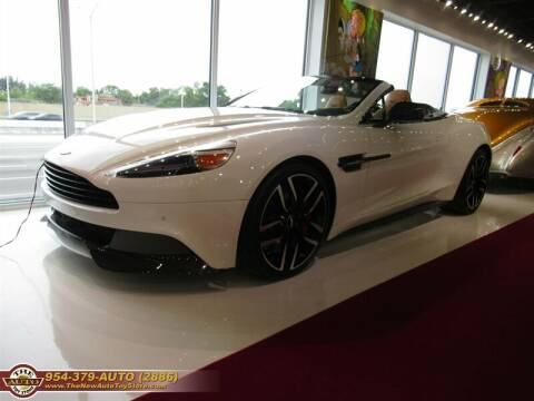 2015 Aston Martin Vanquish for sale at The New Auto Toy Store in Fort Lauderdale FL