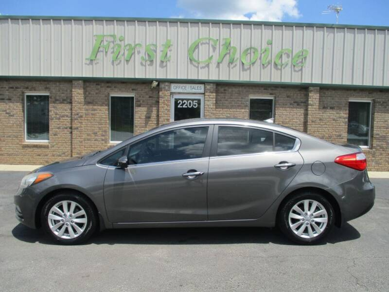2014 Kia Forte for sale at First Choice Auto in Greenville SC