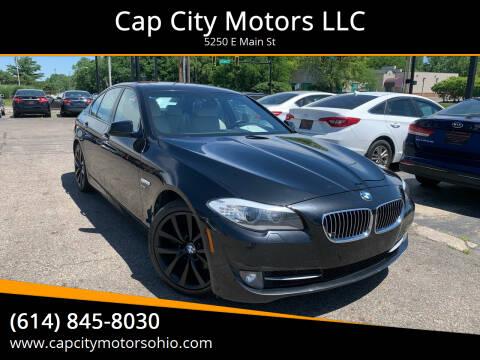 2012 BMW 5 Series for sale at Cap City Motors LLC in Columbus OH