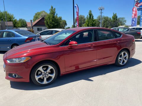 2014 Ford Fusion for sale at Allstate Auto Sales in Twin Falls ID