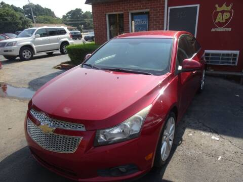 2014 Chevrolet Cruze for sale at AP Automotive in Cary NC