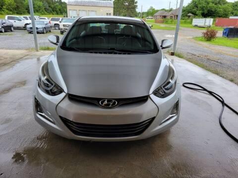 2016 Hyundai Elantra for sale at Auto Guarantee, LLC in Eunice LA