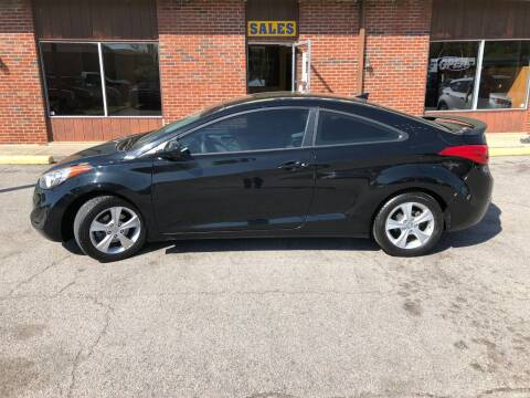 2013 Hyundai Elantra Coupe for sale at Atlas Cars Inc. in Radcliff KY
