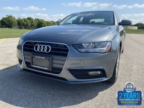 2014 Audi A4 for sale at Destin Motors in Plano TX