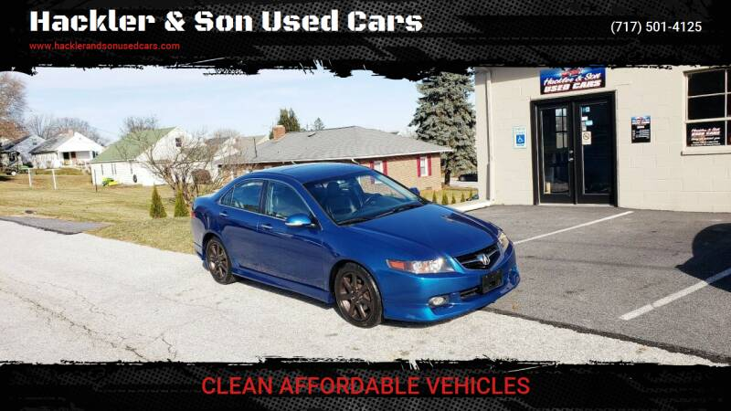 2004 Acura TSX for sale at Hackler & Son Used Cars in Red Lion PA