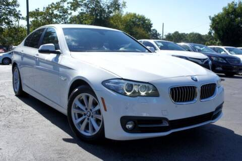 2016 BMW 5 Series for sale at CU Carfinders in Norcross GA