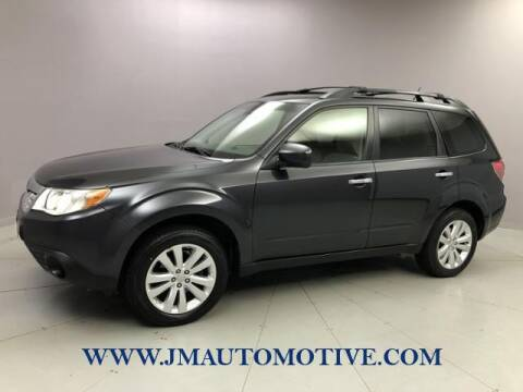 2013 Subaru Forester for sale at J & M Automotive in Naugatuck CT