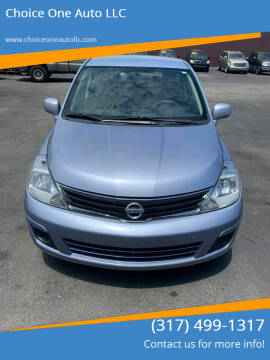 2010 Nissan Versa for sale at Choice One Auto LLC in Beech Grove IN