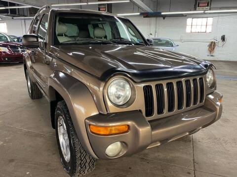 2002 Jeep Liberty for sale at John Warne Motors in Canonsburg PA
