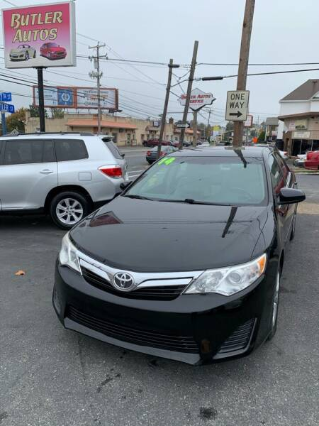 2014 Toyota Camry for sale at Butler Auto in Easton PA