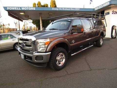 2013 Ford F-350 Super Duty for sale at Powell Motors Inc in Portland OR