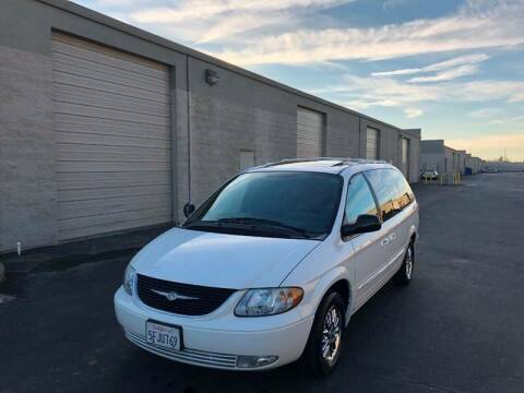 2004 Chrysler Town and Country for sale at APOLLO AUTO SALES in Sacramento CA