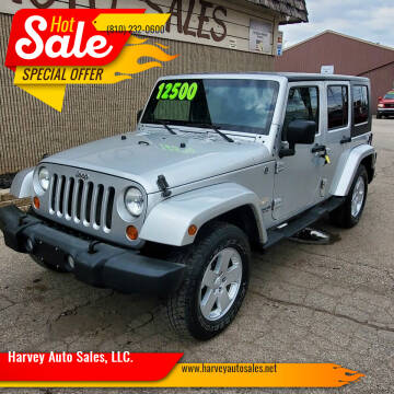 2007 Jeep Wrangler Unlimited for sale at Harvey Auto Sales, LLC. in Flint MI