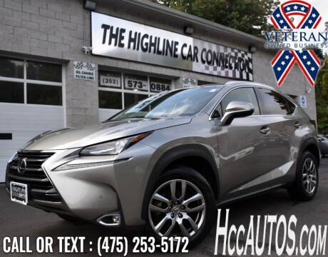 2016 Lexus NX 200t for sale at The Highline Car Connection in Waterbury CT