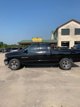 2004 Dodge Ram Pickup 1500 for sale at Driver's Choice in Sherman TX