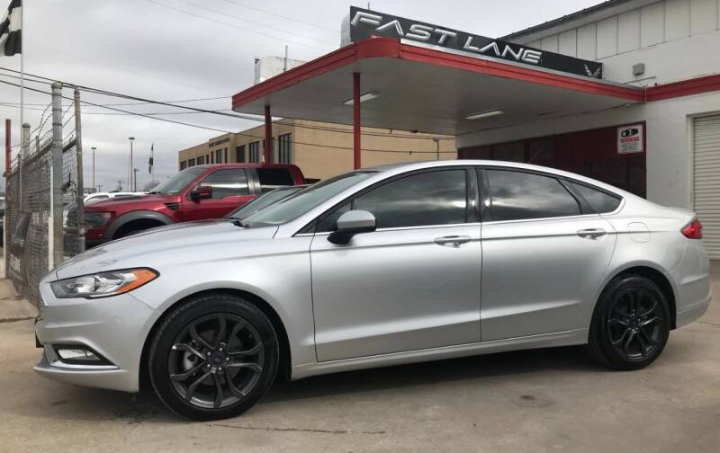 2018 Ford Fusion for sale at FAST LANE AUTO SALES in San Antonio TX