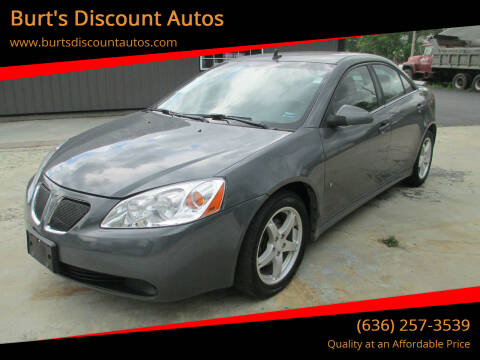 2009 Pontiac G6 for sale at Burt's Discount Autos in Pacific MO