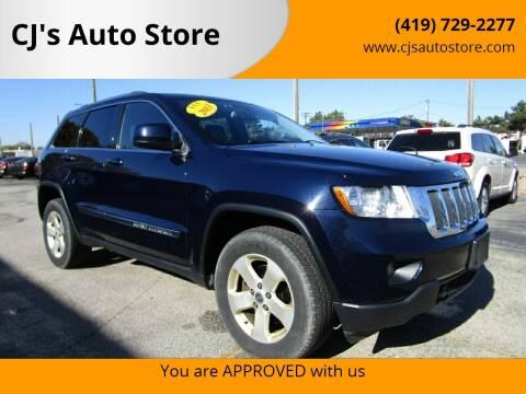 2013 Jeep Grand Cherokee for sale at CJ's Auto Store in Toledo OH