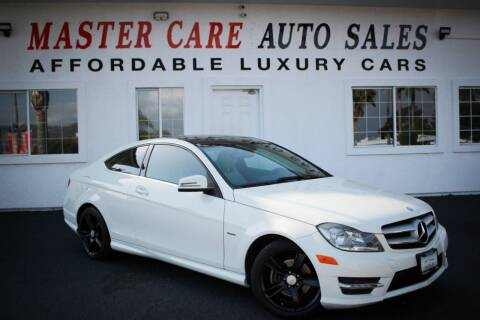 2012 Mercedes-Benz C-Class for sale at Mastercare Auto Sales in San Marcos CA