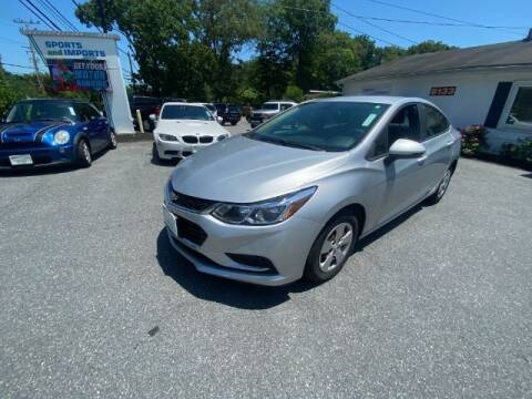 2017 Chevrolet Cruze for sale at Sports & Imports in Pasadena MD