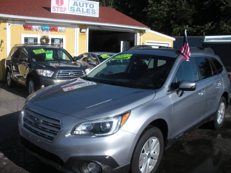 2017 Subaru Outback for sale at One Stop Auto Sales in North Attleboro MA