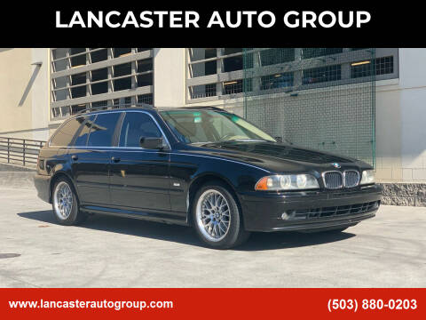 2003 BMW 5 Series for sale at LANCASTER AUTO GROUP in Portland OR