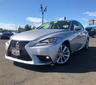 2015 Lexus IS 250 for sale at LUGO AUTO GROUP in Sacramento CA