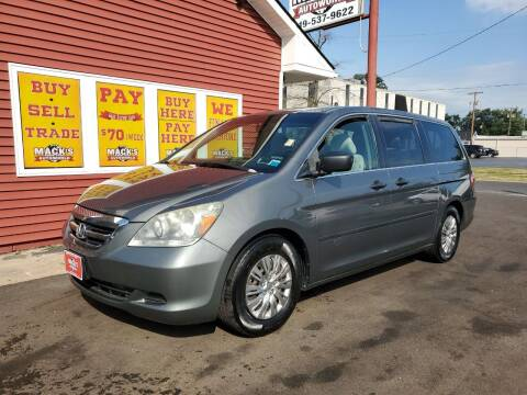 2007 Honda Odyssey for sale at Mack's Autoworld in Toledo OH