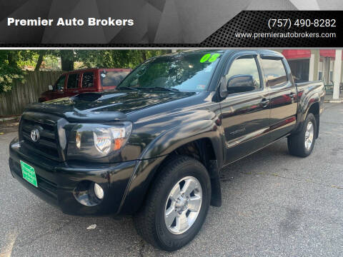 2008 Toyota Tacoma for sale at Premier Auto Brokers in Virginia Beach VA