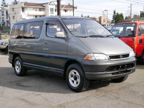 1996 Toyota Granvia/Hiace 4WD Diesel for sale at JDM Car & Motorcycle LLC in Seattle WA