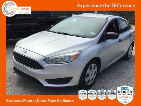 2016 Ford Focus for sale at Dallas Auto Finance in Dallas TX