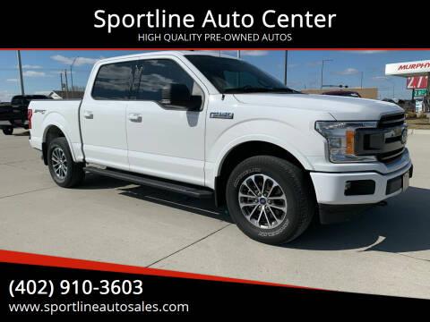 2018 Ford F-150 for sale at Sportline Auto Center in Columbus NE