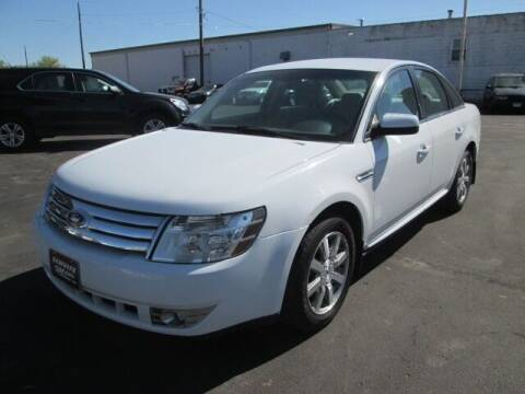 2008 Ford Taurus for sale at SCHULTZ MOTORS in Fairmont MN