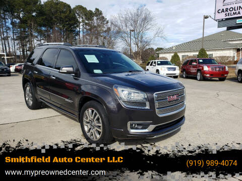 2014 GMC Acadia for sale at Smithfield Auto Center LLC in Smithfield NC