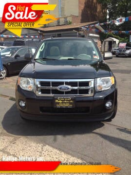 2012 Ford Escape for sale at Rallye  Motors inc. in Newark NJ