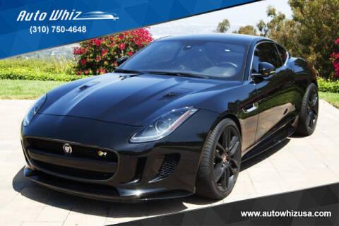2017 Jaguar F-TYPE for sale at Auto Whiz in Rancho Palos Verdes CA