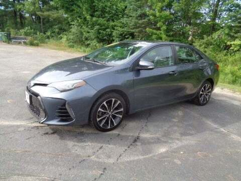 2017 Toyota Corolla for sale at SCHURMAN MOTOR COMPANY in Lancaster NH