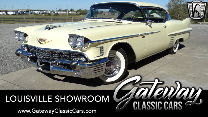 1958 Cadillac DeVille for sale in Memphis, IN
